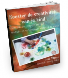 Gratis ebook! Koester de creativiteit van je kind