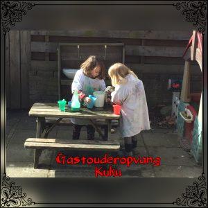 Spelen en ontdekken in hun eigen gecreëerde laboratorium.